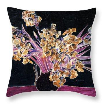Inv Blend 3 Van Gogh Throw Pillow