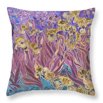 Inv Blend 6 Van Gogh Throw Pillow