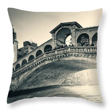 Invasion During The Dawn Throw Pillow