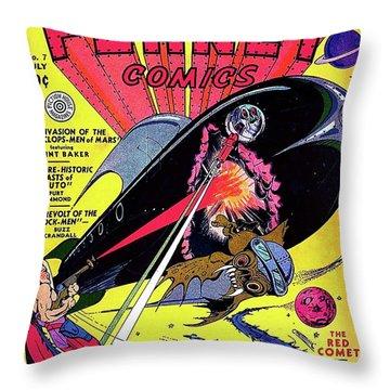 Cyclops Throw Pillows