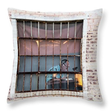 Inventory Time Throw Pillow