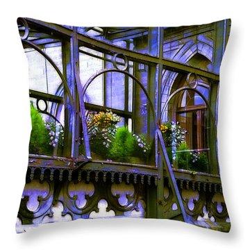 Inverary Castle Throw Pillows