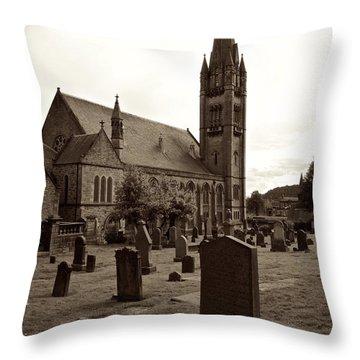 Inverness Church Throw Pillow