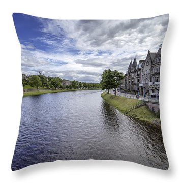 Throw Pillow featuring the photograph Inverness by Jeremy Lavender Photography