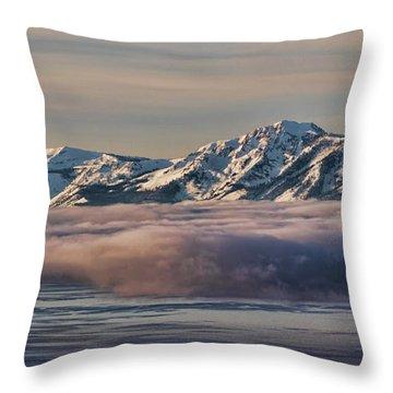 Inversion Tahoe Throw Pillow