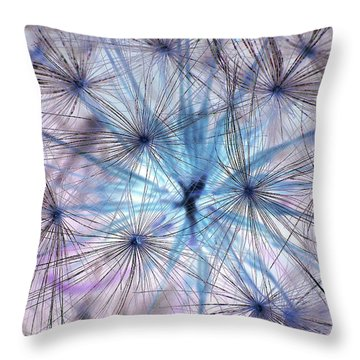 Inverted Dandelion Throw Pillow