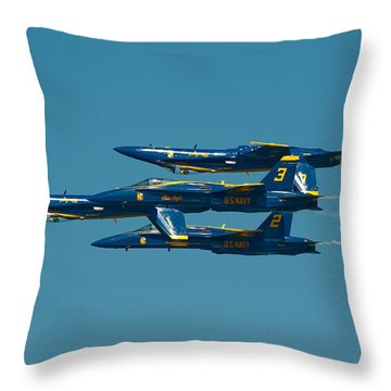 Inverted Throw Pillow by Sebastian Musial