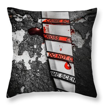 Investigation Of Cross Examination Throw Pillow