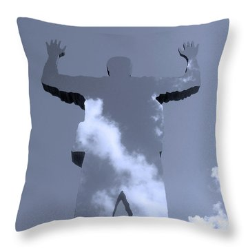 Invisible ... Throw Pillow