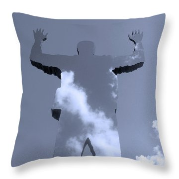 Throw Pillow featuring the photograph Invisible ... by Juergen Weiss