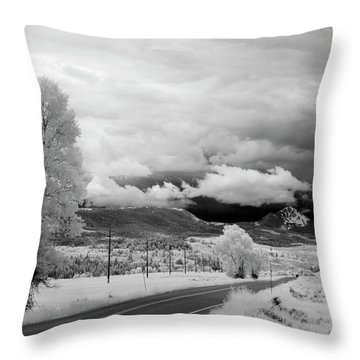 Invisible Drive Throw Pillow