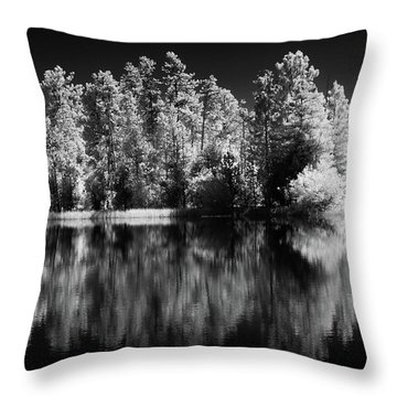 Invisible Reflection Throw Pillow