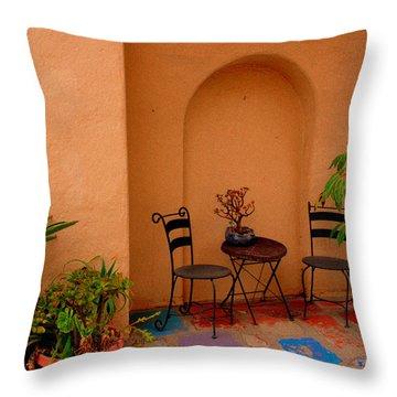 Invitation Throw Pillow by Susanne Van Hulst