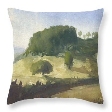 Inviting Path Throw Pillow