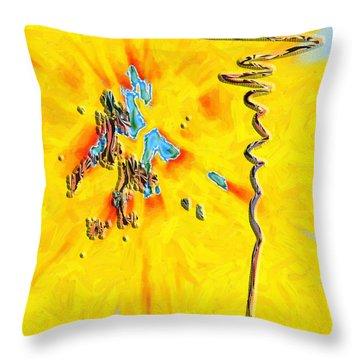 Throw Pillow featuring the digital art Inw_20a5227rz_grow by Kateri Starczewski