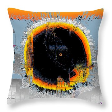 Throw Pillow featuring the digital art Inw_20a5568_subsequence by Kateri Starczewski