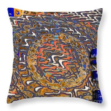Throw Pillow featuring the digital art Inw_20a5574_slim-passage by Kateri Starczewski