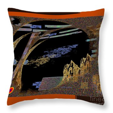 Throw Pillow featuring the digital art Inw_20a5581_hoofed by Kateri Starczewski