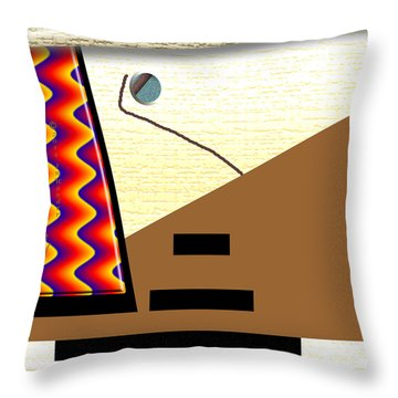 Throw Pillow featuring the digital art Inw_20a6143_rendezvous by Kateri Starczewski