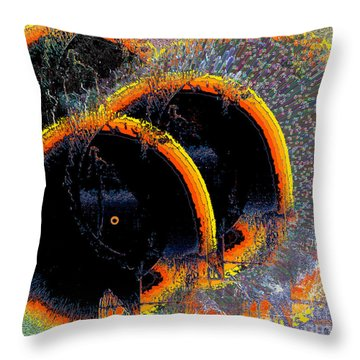 Throw Pillow featuring the digital art Inw_20a6449_sighted by Kateri Starczewski