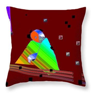 Throw Pillow featuring the digital art Inw_20a6451_between-rocks by Kateri Starczewski