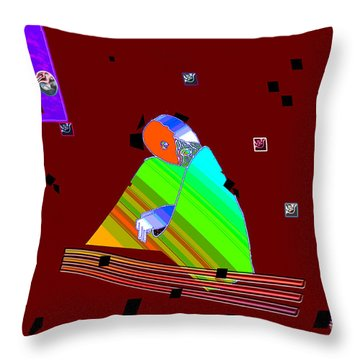 Throw Pillow featuring the digital art Inw_20a6452_between-rocks by Kateri Starczewski