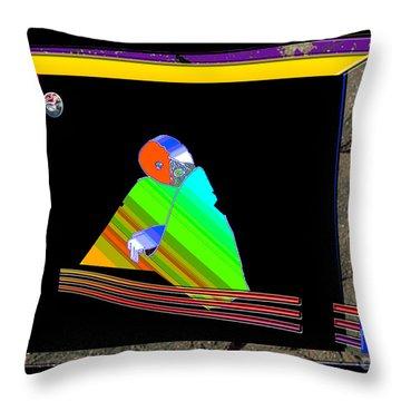 Throw Pillow featuring the digital art Inw_20a6454_between-rocks by Kateri Starczewski