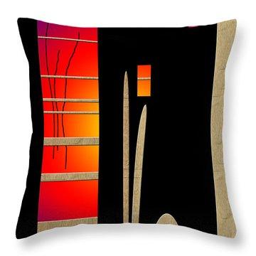 Throw Pillow featuring the digital art Inw_20a6465_awakening by Kateri Starczewski