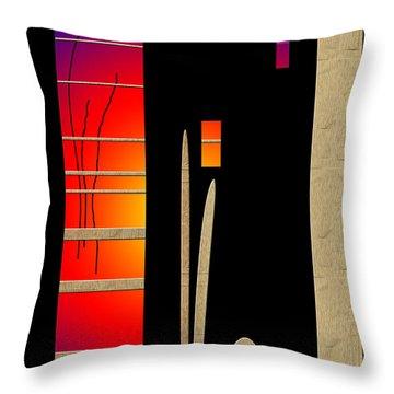 Throw Pillow featuring the digital art Inw_20a6466_mutual-awakening by Kateri Starczewski