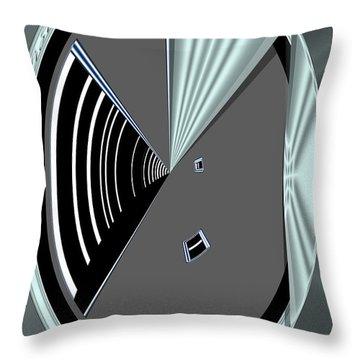 Throw Pillow featuring the digital art Inw_20a6468_wink by Kateri Starczewski