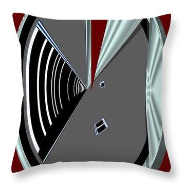 Throw Pillow featuring the digital art Inw_20a6470_wink by Kateri Starczewski