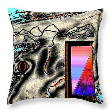 Throw Pillow featuring the digital art Inw_20a6505 Universal Mining by Kateri Starczewski