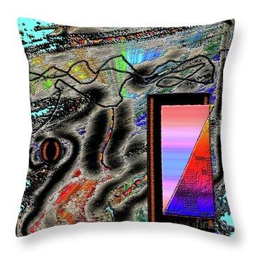 Throw Pillow featuring the digital art Inw_20a6507 Universal Mining_custom-spectrum by Kateri Starczewski