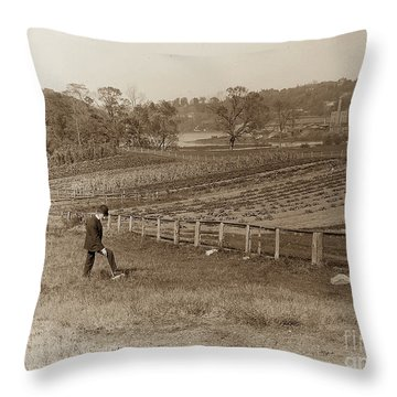 Throw Pillow featuring the photograph Inwood 1906 by Cole Thompson