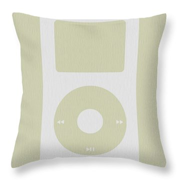 iPod Throw Pillow