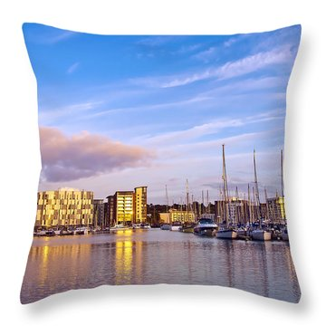 Ipswich Throw Pillow by Svetlana Sewell