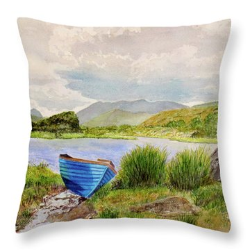 Ireland Throw Pillow by Carol Flagg