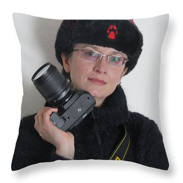 Irina By Mark 2 Throw Pillow