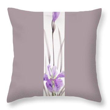 Iris 12050017-2fy Throw Pillow