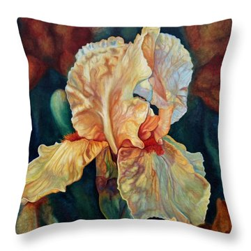 Iris 3_2017 Throw Pillow