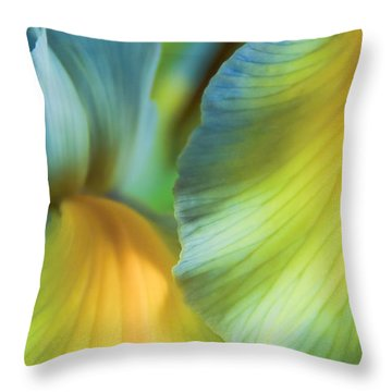 Iris Fantasy Throw Pillow
