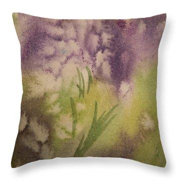 Iris Fantasy Throw Pillow
