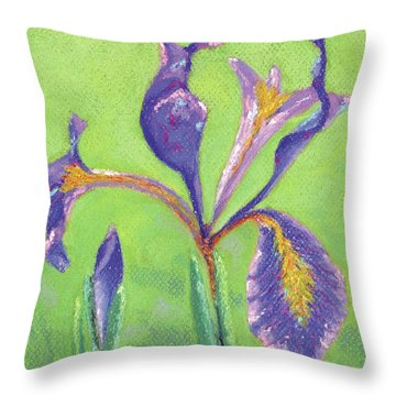 Iris For Iris Throw Pillow