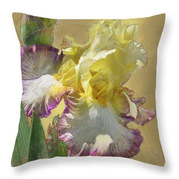 Iris, 'kiss Of Kisses' Throw Pillow
