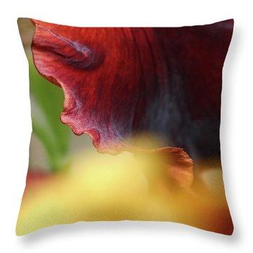 Iris Petals 2 -  Throw Pillow