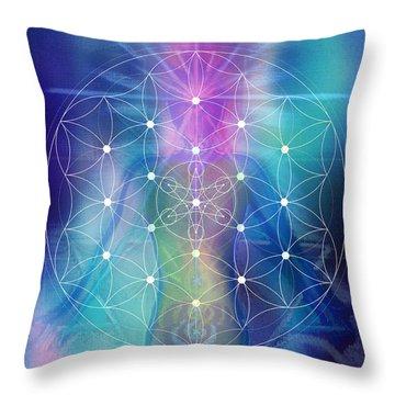 Iris Whittington Throw Pillow