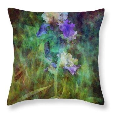 Irises 6618 Idp_3 Throw Pillow