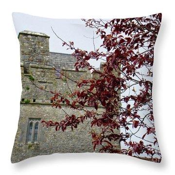 Irish Beauty Throw Pillow