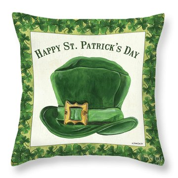Irish Cap Throw Pillow