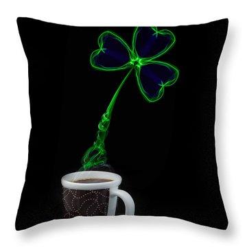 Irish Coffee Throw Pillow